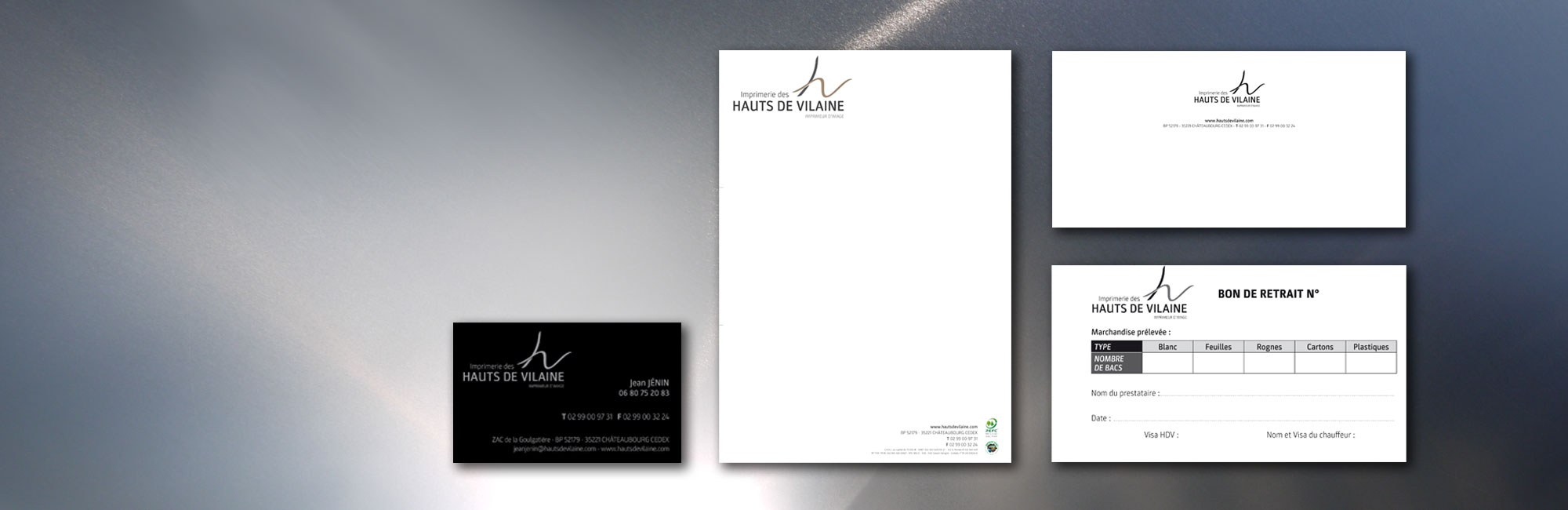 Papeterie - Impression de documents administratifs